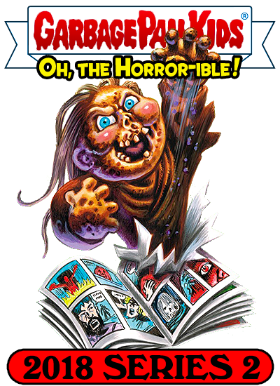 Garbage Pail Kids Oh The Horror Sticker 9 Trick Or Treat Senior Mints